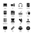 computer and hardware vector image