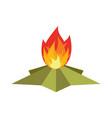 eternal flame memorial 9 may symbol of victory in vector image vector image