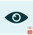 Eye icon isolated vector image