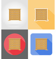 furniture flat icons 03 vector image vector image