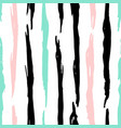 grunge trendy lines seamless pattern vector image vector image