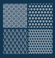 japanese pattern set geometry traditional vector image