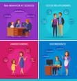 parenthood cases design concept vector image vector image
