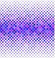 Purple and blue square pattern background design vector image vector image