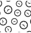 real time icon seamless pattern background clock vector image vector image