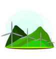 renewable energy industry vector image