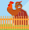 Rooster cock vector image vector image