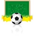 vector soccer ball vector image vector image