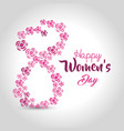 women day card icon vector image vector image