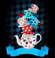 Wonder Tea Party pyramid design
