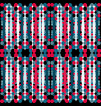 abstract geometric psychedelic seamless pattern vector image vector image