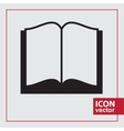 Book Simple Icon vector image