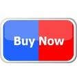 buy now words on web button icon isolated vector image vector image
