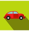 Car vintage car icon flat style vector image