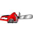 electric saw vector image vector image