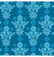 Floral Seamless Texture endless pattern with vector image vector image
