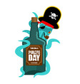 international talk like a pirate day octopus vector image vector image