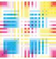 seamless colorful abstract stripes pattern vector image