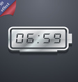 alarm clock icon symbol 3D style Trendy modern vector image vector image