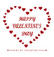 celebrate holidays valentine vector image vector image