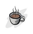 cofffe cup 1 vector image vector image