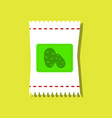 flat icon design collection potato seeds in vector image vector image
