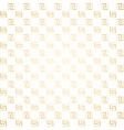 golden and white seamless simple pattern vector image vector image