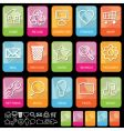 Tab icons on black vector | Price: 1 Credit (USD $1)