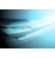 Bright blue hi-tech motion image background vector image vector image