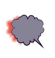 comics book dialog empty cloud vector image vector image