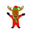 Reindeer Deer Retro vector image vector image