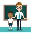 student school teacher icon vector image vector image