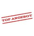 Top Angebot Watermark Stamp vector image vector image
