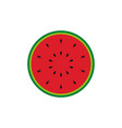 watermelon icon design template isolated vector image