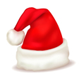 christmas hat vector image
