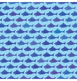 fish background vector image vector image