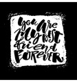 Friendship day lettering motivation poster