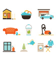 House Cleaning vector image