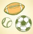 US Football Ball Base vector image vector image
