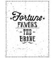 Vintage motivational grunge quote poster doodles vector image vector image