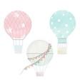 watercolor air balloons collection