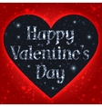 Happy Valentines Day Greeting Card vector image