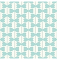 Geometric seamless pattern with hearts lines vector image