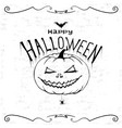 happy halloween print wall art poster vector image vector image