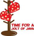 Java Jolt vector image vector image