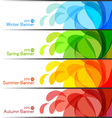 Set of season banners vector | Price: 1 Credit (USD $1)