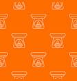 spa aroma bottle pattern orange vector image vector image