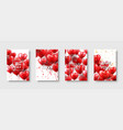 valentines mothers day modern abstract card vector image