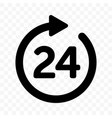 24 round arrow icon customer support delivery