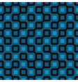 blue tile seamless vector image vector image